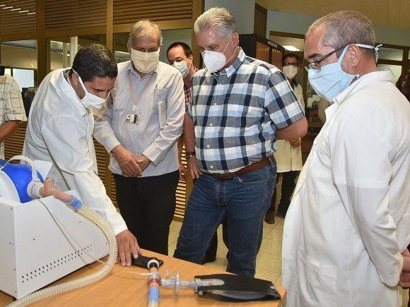 Díaz-Canel urgido de controlar rebrote coronavirus en Cuba
