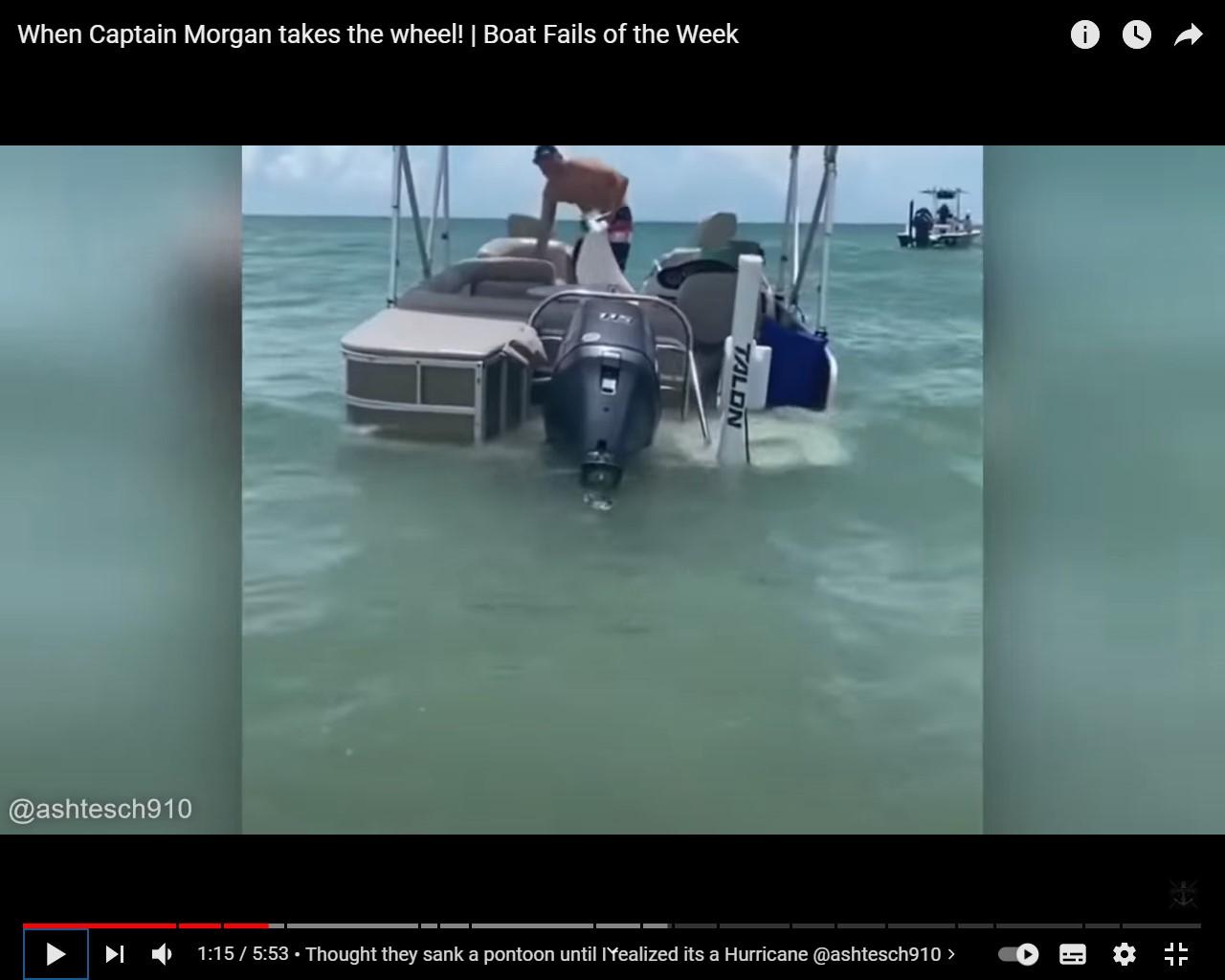 ¡Fallos de botes! El pirata Morgan toma el timón