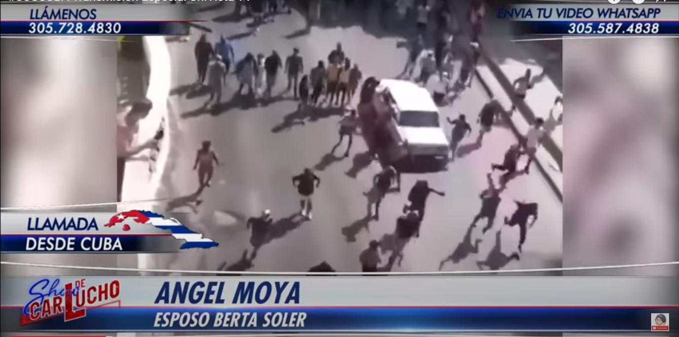 #SOSCUBA Angel Moya denuncia represión en Cuba